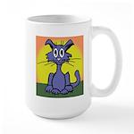 Cat w/sun Large Mug