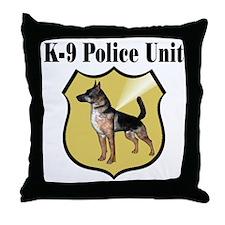 K9 Police Throw Pillow