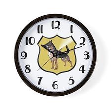 K9 Police Wall Clock