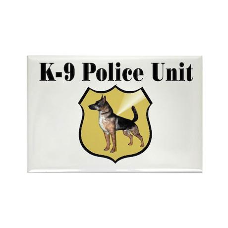 K9 Police Rectangle Magnet (10 pack)