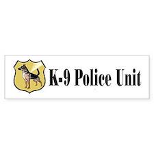 K9 Police Bumper Bumper Sticker