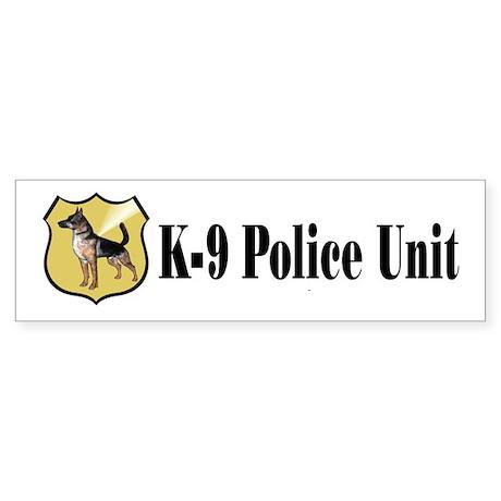 K9 Police Bumper Sticker (50 pk)