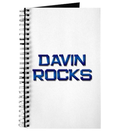 davin rocks Journal