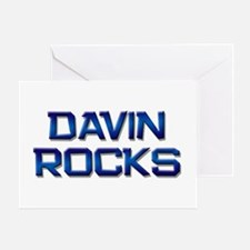 davin rocks Greeting Card