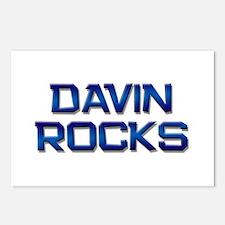 davin rocks Postcards (Package of 8)