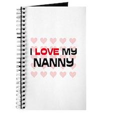I Love My Nanny Journal