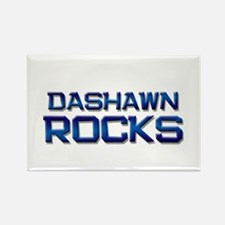 dashawn rocks Rectangle Magnet