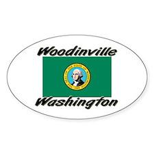 Woodinville Washington Oval Decal