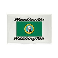 Woodinville Washington Rectangle Magnet