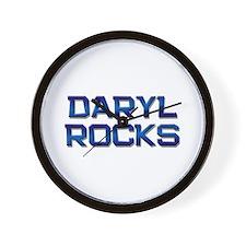 daryl rocks Wall Clock