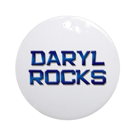 daryl rocks Ornament (Round)