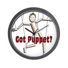 Bobby Jindal, new puppet Wall Clock