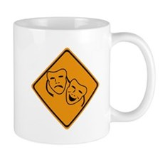 Comedy Tragedy Ahead Mug