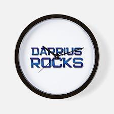 darrius rocks Wall Clock