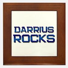 darrius rocks Framed Tile