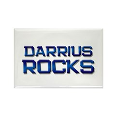 darrius rocks Rectangle Magnet