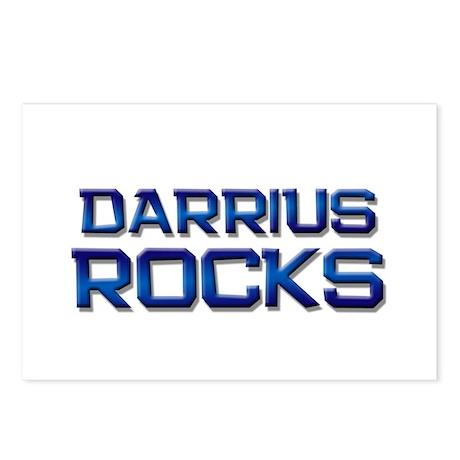 darrius rocks Postcards (Package of 8)