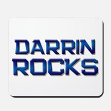 darrin rocks Mousepad