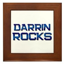 darrin rocks Framed Tile