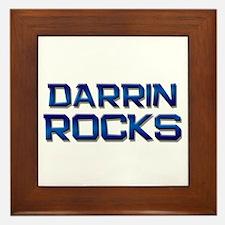 darrin rocks Framed Tile