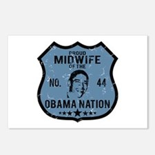 Midwife Obama Nation Postcards (Package of 8)