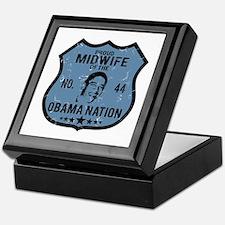 Midwife Obama Nation Keepsake Box