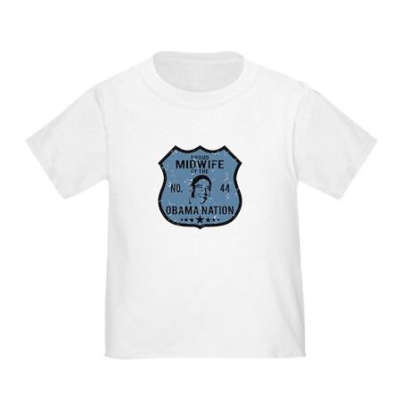 Midwife Obama Nation Toddler T-Shirt