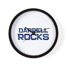 darrell rocks Wall Clock