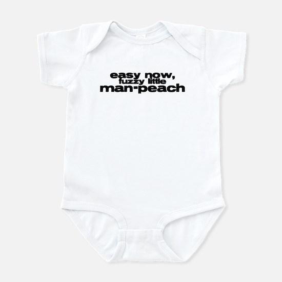 Man-Peach Infant Bodysuit