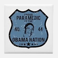 Paramedic Obama Nation Tile Coaster