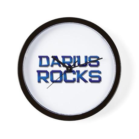 darius rocks Wall Clock