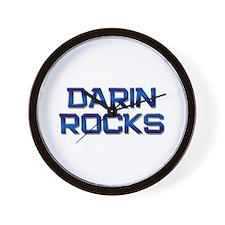 darin rocks Wall Clock