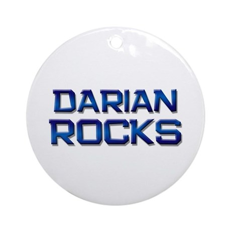darian rocks Ornament (Round)
