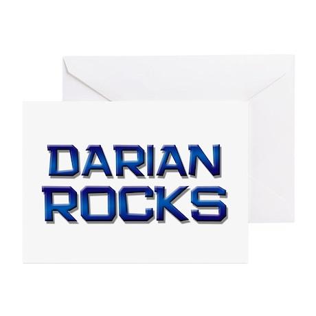 darian rocks Greeting Cards (Pk of 10)