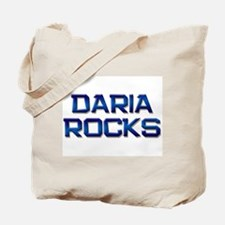 daria rocks Tote Bag
