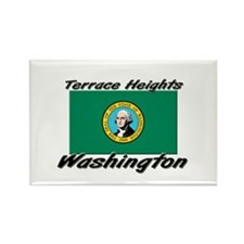 Terrace Heights Washington Rectangle Magnet