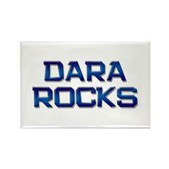 dara rocks Rectangle Magnet