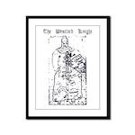 Westford Knight Framed Panel Print