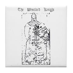 Westford Knight Tile Coaster