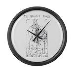 Westford Knight Large Wall Clock