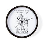 Westford Knight Wall Clock