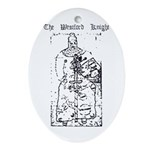 Westford Knight Oval Ornament
