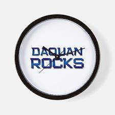 daquan rocks Wall Clock