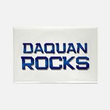daquan rocks Rectangle Magnet