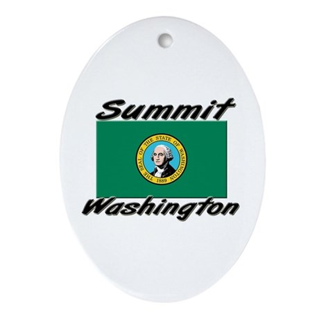 Summit Washington Oval Ornament