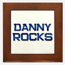 danny rocks Framed Tile