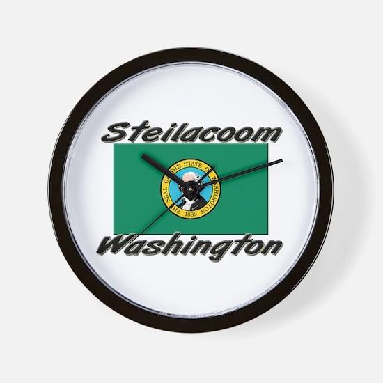 Steilacoom Washington Wall Clock