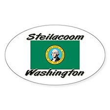 Steilacoom Washington Oval Decal