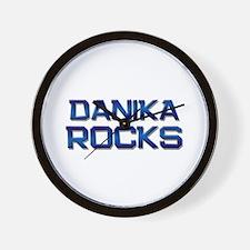 danika rocks Wall Clock