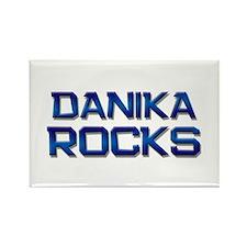 danika rocks Rectangle Magnet